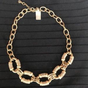 J. Crew Chain Link Gold Necklace